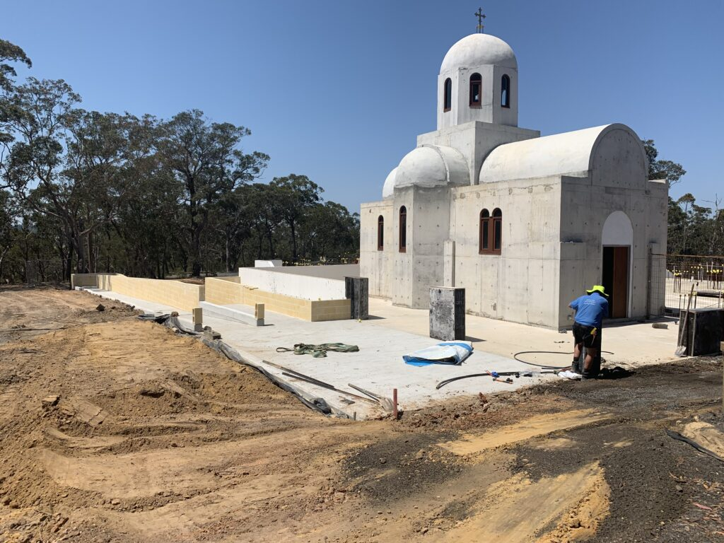 Stage 2 St Irene Chapel and Ramp