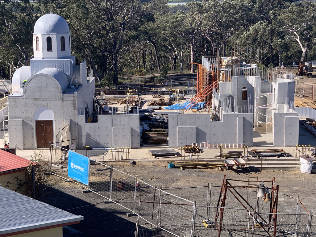 "Holy Cross Monastery Stage 2 ""The Church"" Progress"