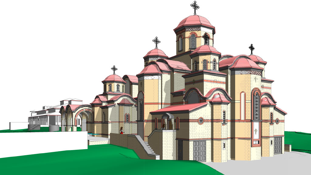Holy Cross Monastery Stage 2 development