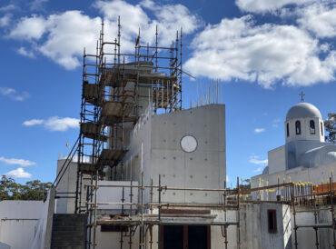 "Holy Cross Monastery Stage 2 ""The Church"" Progress"