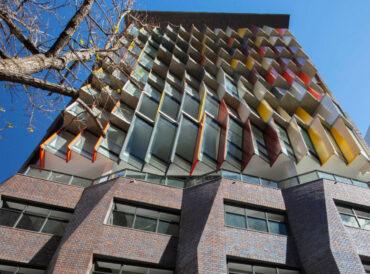 Kaz Tower Face brick work wins awards